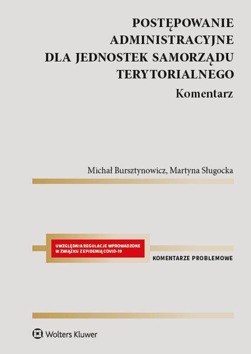 Postępowanie administracyjne dla - okładka książki