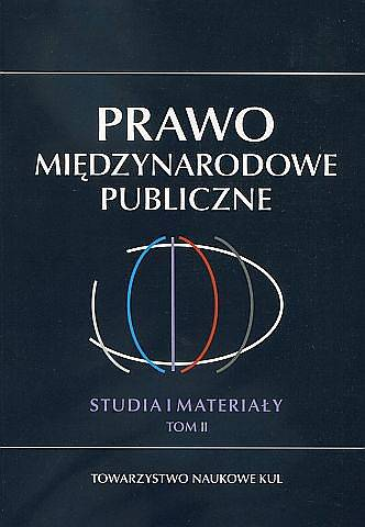 Prawo Międzynarodowe Publiczne. - okładka książki