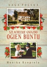 Saga Polska Szlacheckie gniazdo - okładka książki