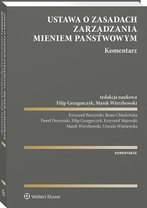 Ustawa o zasadach zarządzania mieniem - okładka książki