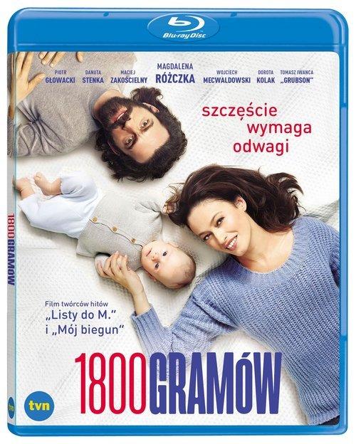 1800 gramów Blu-ray/ Kino Świat - okładka filmu
