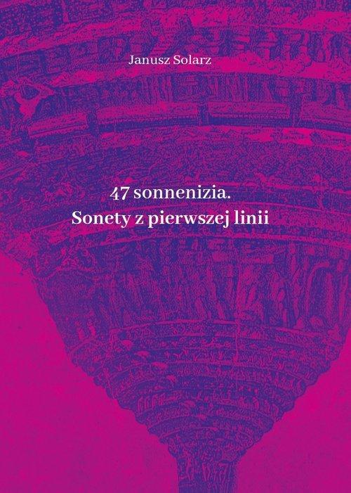47 sonneniziów Sonety z pierwszej - okładka książki