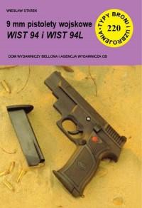 9 mm pistolety wojskowe WIST 94 - okładka książki