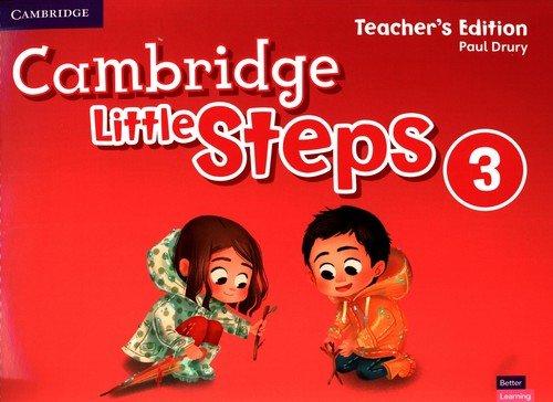 Cambridge Little Steps 3 Teachers - okładka podręcznika