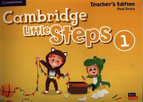 Cambridge Little Steps Level 1 - okładka podręcznika