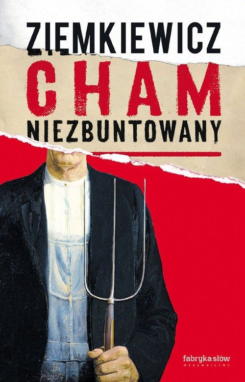 Cham niezbuntowany - okładka książki
