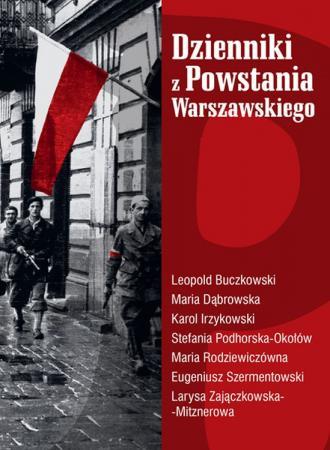 Dzienniki z Powstania Warszawskiego - okładka książki