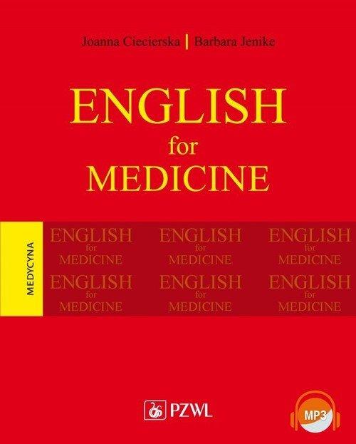 English for Medicine - okładka książki