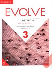 Evolve 3 Students Book with Practice - okładka podręcznika