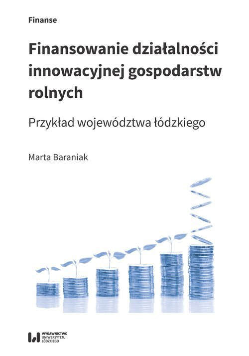 Finansowanie działalności innowacyjnej - okładka książki