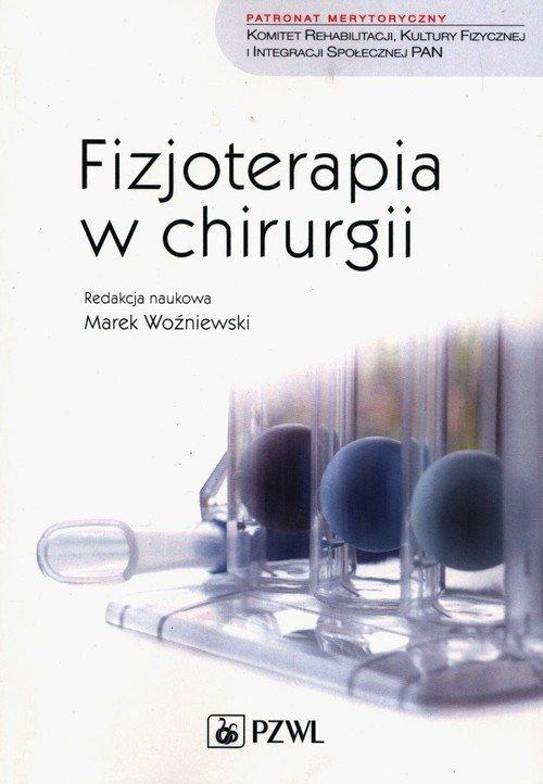 Fizjoterapia w chirurgii - okładka książki
