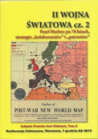 II Woja Światowa cz. 2. Pearl Habor - okładka książki