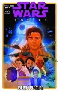 Iskra i płomień. Star Wars komiks - okładka książki