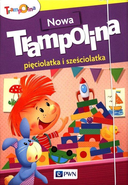 Nowa Trampolina pięciolatka i sześciolatka - okładka podręcznika