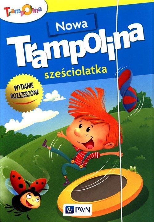 Nowa Trampolina sześciolatka - okładka podręcznika
