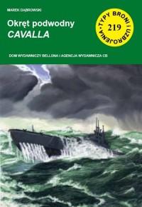 Okręt podwodny CAVALLA - okładka książki
