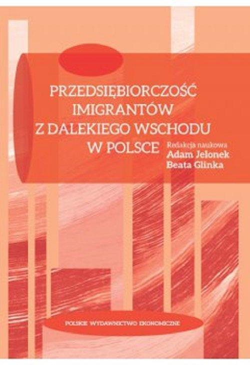 Przedsiębiorczość imigrantów z - okładka książki