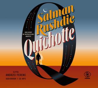 Quichotte - pudełko audiobooku