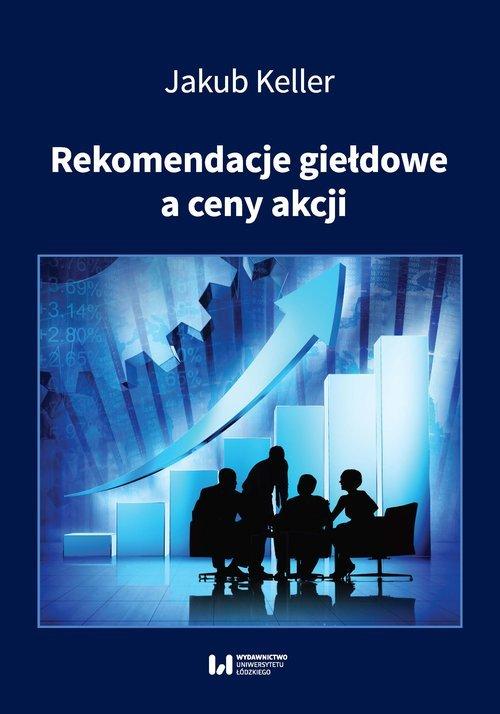 Rekomendacje giełdowe a ceny akcji - okładka książki
