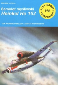Samolot myśliwski HEINKEL HE 162 - okładka książki