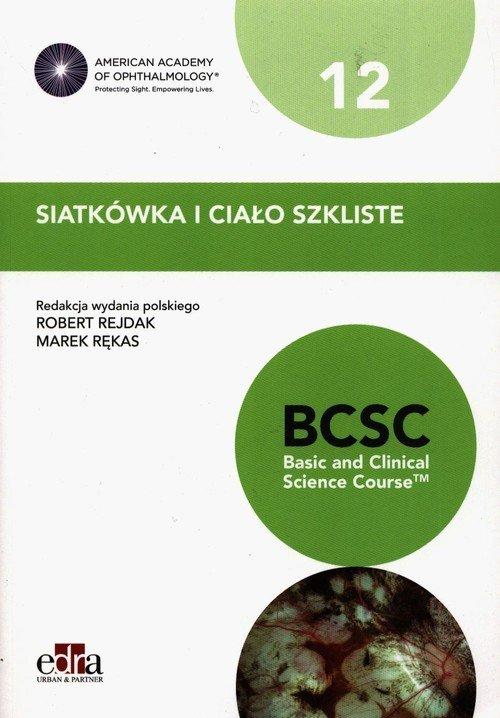Siatkówka i ciało szkliste. BCSC - okładka książki