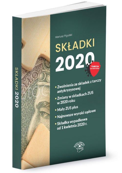 Składki 2020 - okładka książki