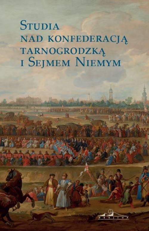 Studia nad konfederacją tarnogrodzką - okładka książki
