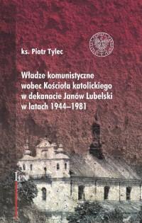 Władze komunistyczne wobec Kościoła - okładka książki