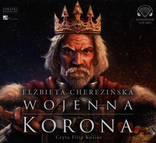 Wojenna korona (CD mp3) - pudełko audiobooku