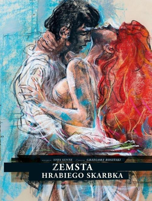Zemsta hrabiego Skarbka - okładka książki