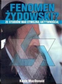 Fenomen żydowski? Ze studiów nad - okładka książki