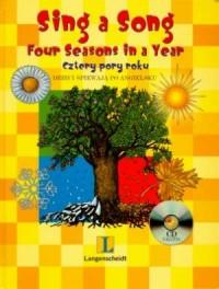Sing a song. Dzieci śpiewają po angielsku (+ CD) - okładka książki