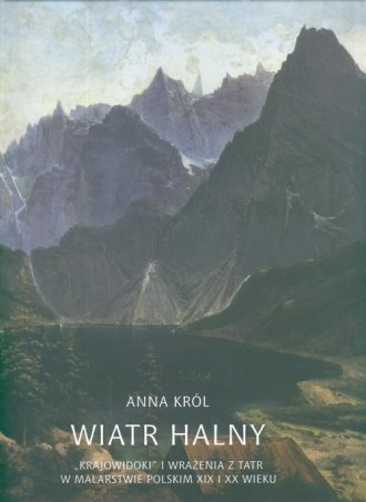Wiatr halny - okładka książki