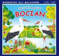 Bocian. Wierszyki dla Maluchów - okładka książki