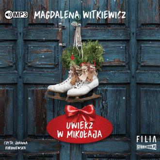 Uwierz w Mikołaja (CD mp3) - pudełko audiobooku
