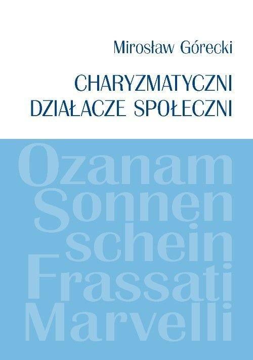 Charyzmatyczni działacze społeczni - okładka książki
