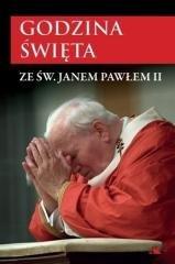 Godzina święta ze św. Janem Pawłem - okładka książki