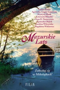 Mazurskie Lato - okładka książki