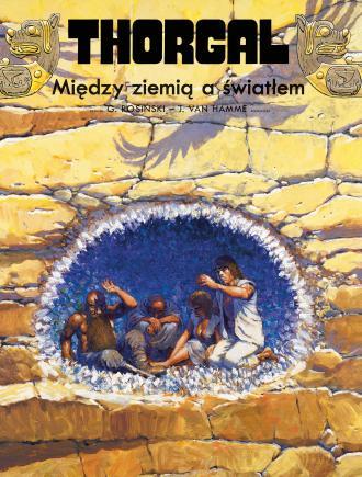 Thorgal. Tom 13. Między ziemią - okładka książki