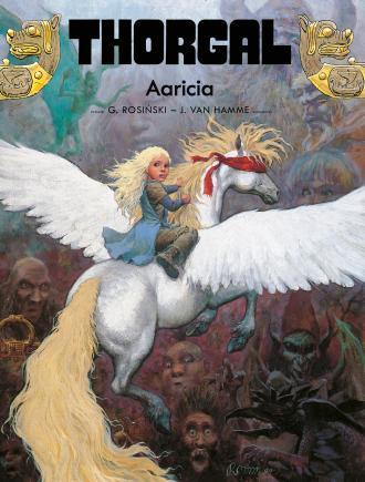 Thorgal. Tom 14. Aaricia - okładka książki