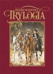 Trylogia - Henryk Sienkiewicz - okładka książki