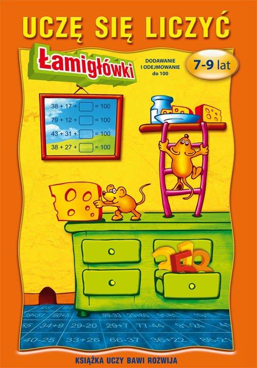Uczę się liczyć Łamigłówki. 7-9 - okładka podręcznika