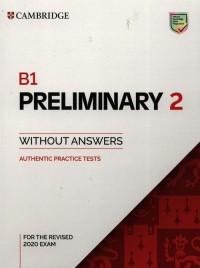 B1 Preliminary 2 Students Book - okładka podręcznika