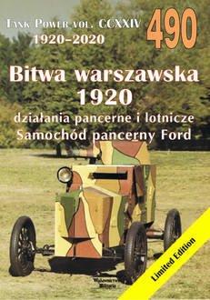Bitwa Warszawska 1920. Tank Pover - okładka książki