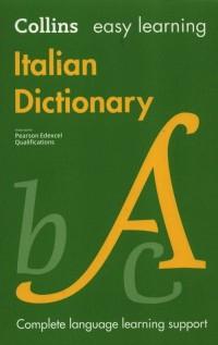Easy Learning Italian Dictionary - okładka książki