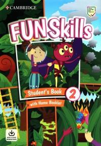 Fun Skills 2 Students Book with - okładka podręcznika