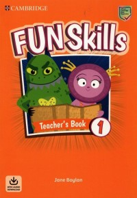 Fun Skills Level 1 Teachers Book - okładka podręcznika