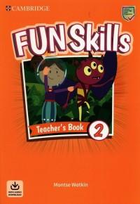 Fun Skills Level 2 Teachers Book - okładka podręcznika