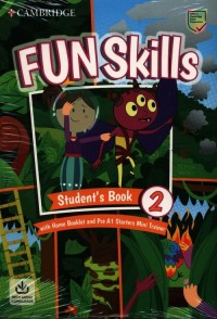 Fun Skills Level 2/Starters Students - okładka podręcznika