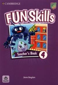 Fun Skills Level 4 Teachers Book - okładka podręcznika